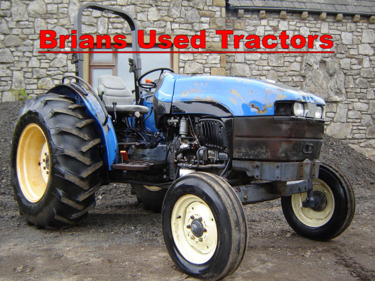 New Holland Tractors Used : Brian s used tractors for sale