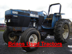 New Holland 6640 S