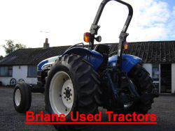 New Holland tn65  tractor for sale england UK