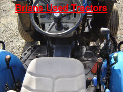 New Holland TN 55 Manual Shuttle Loader  tractor for sale UK