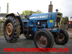 Ford 4600 3 cyl diesel tractor