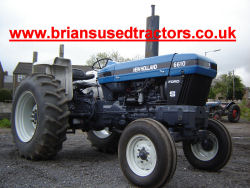 New Holland Ford 6610 S Genesis Engine Tractor for sale uk