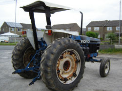 Ford tractor 7740 s