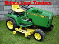John Deere 320 Compact garden mower tractor for sale used