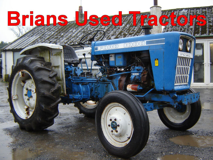 Old Ford Tractors For Sale Brian's Used Tractors | Used Tractors | tractors for sale ...