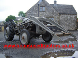 grey fergie p3 diesel tractor for sale
