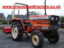 hinomoto 1804 4wd 4x4 compact tractor for sale
