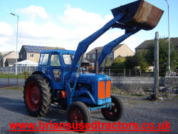 Fordson Power Major  4 cylinder diesel classic Tractor for sale
