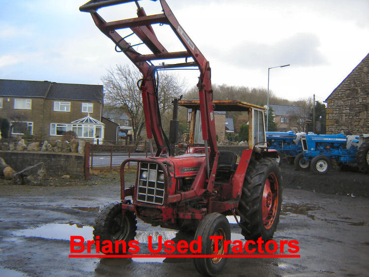 ... IH 674 quicke loader tractor for sale UK